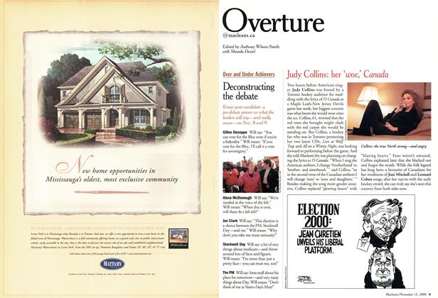 Article Preview: Overture, November 2000 | Maclean's