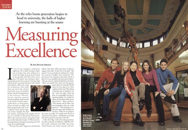 Article Preview: Measuring Excellence, November 2000 | Maclean's