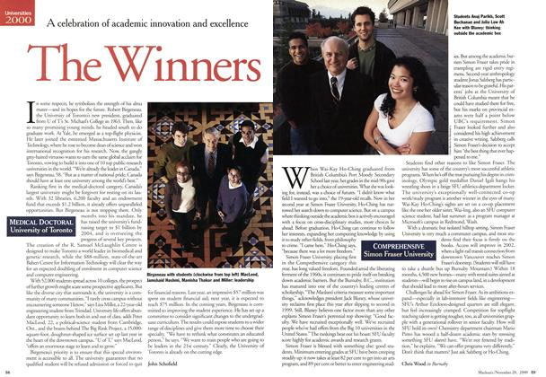 Article Preview: The Winners, November 2000 | Maclean's