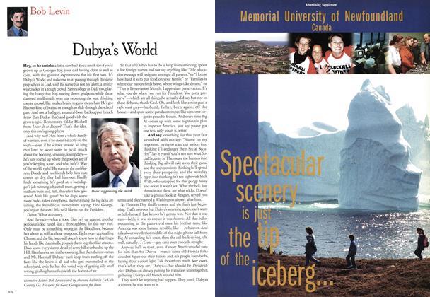 Article Preview: Dubya's World, November 2000 | Maclean's