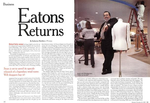 Article Preview: Eatons Returns, November 2000 | Maclean's