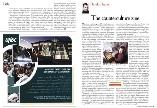 Article Preview: The counterculture zine, November 2000 | Maclean's