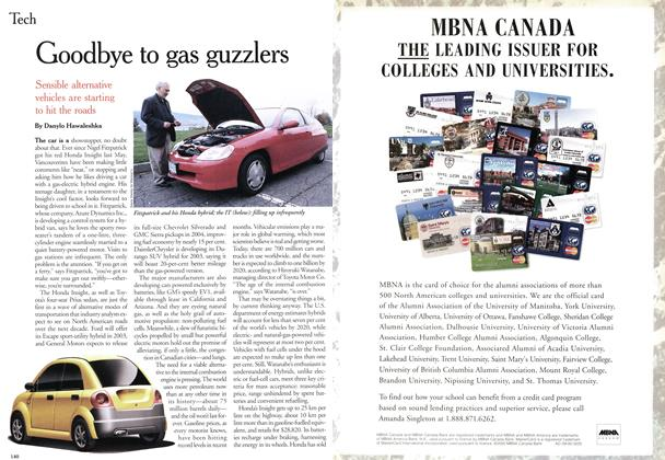 Article Preview: Goodbye to gas guzzlers, November 2000 | Maclean's