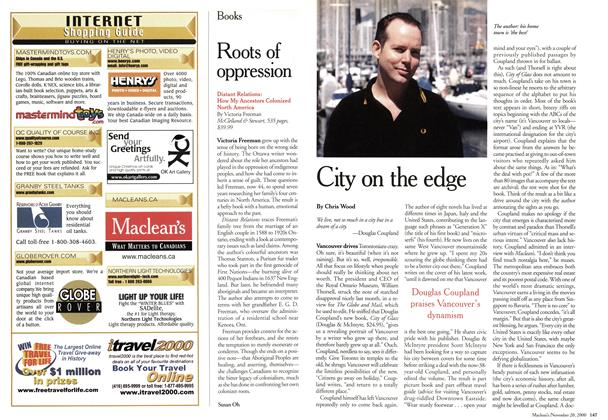 Article Preview: Roots of oppression, November 2000 | Maclean's