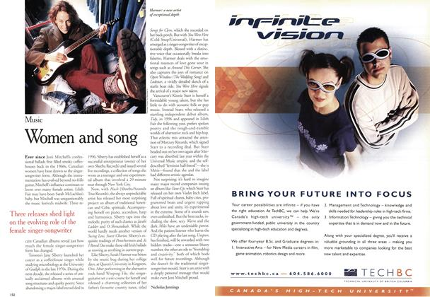 Article Preview: Women and song, November 2000 | Maclean's
