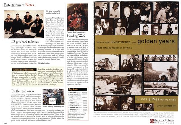Article Preview: Entertainment Notes, November 2000 | Maclean's
