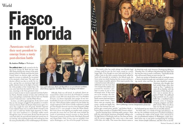 Article Preview: Fiasco in Florida, November 2000 | Maclean's