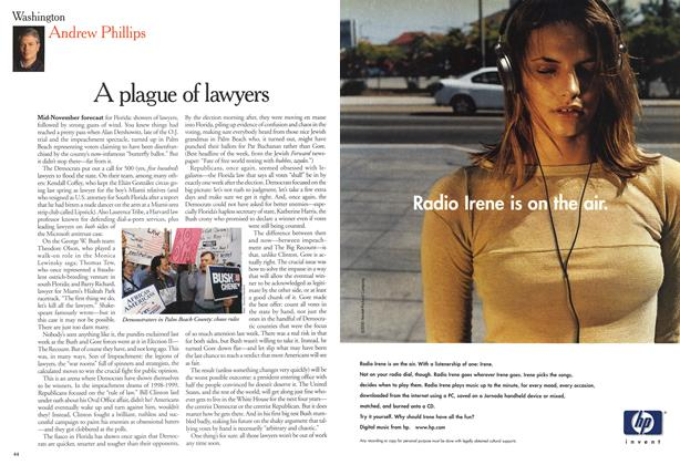 Article Preview: A plague of lawyers, November 2000 | Maclean's