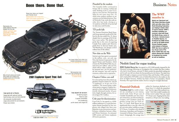 Article Preview: Business Notes, November 2000 | Maclean's