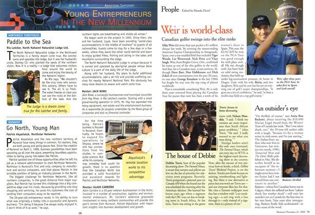 Article Preview: People, November 2000 | Maclean's