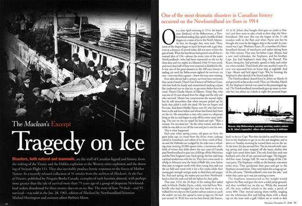 Article Preview: Tragedy on Ice, November 2000 | Maclean's