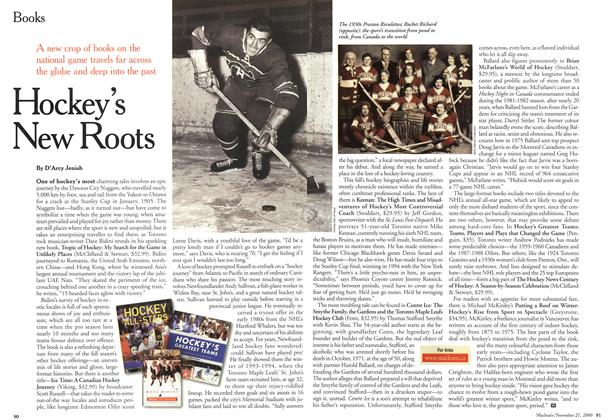 Article Preview: Hockey's New Roots, November 2000 | Maclean's