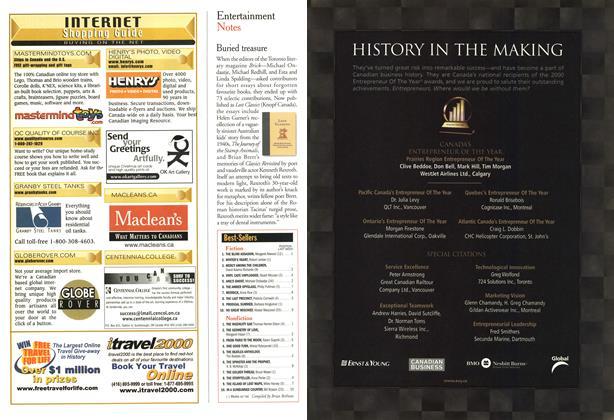 Article Preview: Best-Sellers, November 2000 | Maclean's