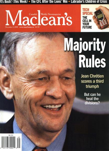 Issue: - December 2000 | Maclean's