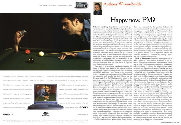 Article Preview: Happy now, PM?, December 2000 | Maclean's