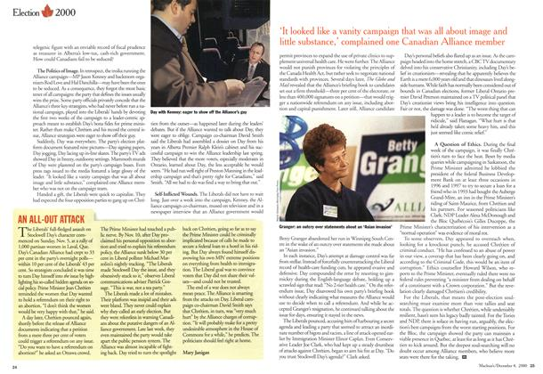 Article Preview: AN ALL-OUT ATTACK, December 2000 | Maclean's