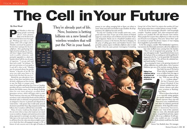 Article Preview: The Cell in Your Future, December 2000 | Maclean's