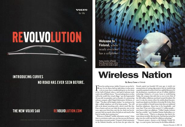 Article Preview: Wireless Nation, December 2000 | Maclean's