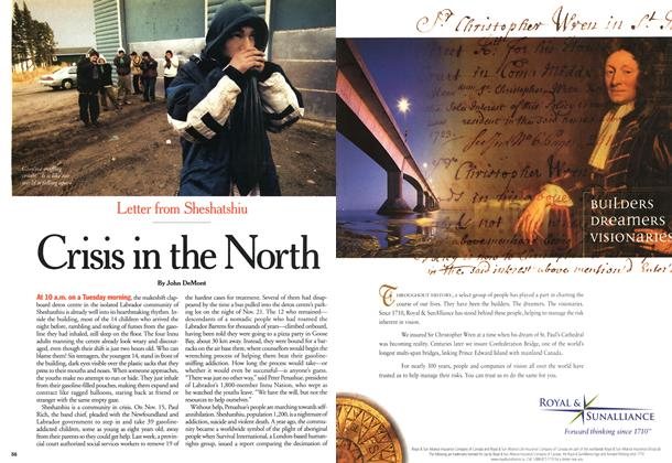 Article Preview: Crisis in the North, December 2000 | Maclean's