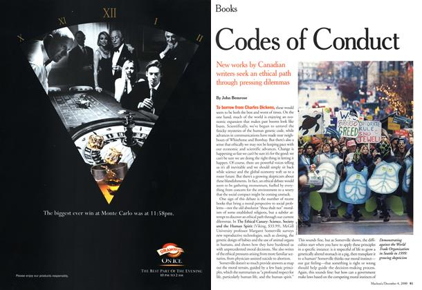 Article Preview: Codes of Conduct, December 2000 | Maclean's