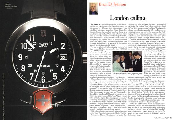 Article Preview: London calling, December 2000 | Maclean's