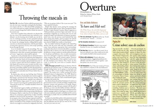 Article Preview: Overture, December 2000 | Maclean's