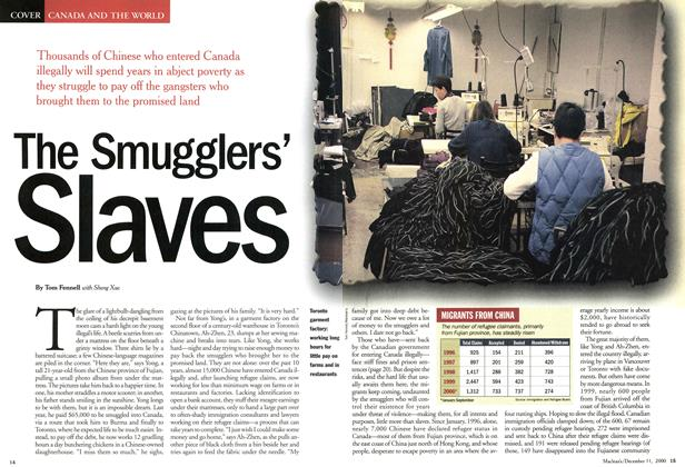 Article Preview: The Smugglers' Slaves, December 2000 | Maclean's