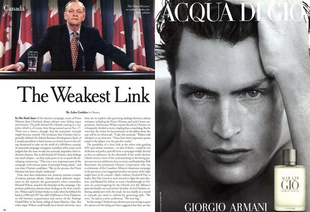 Article Preview: The Weakest Link, December 2000 | Maclean's