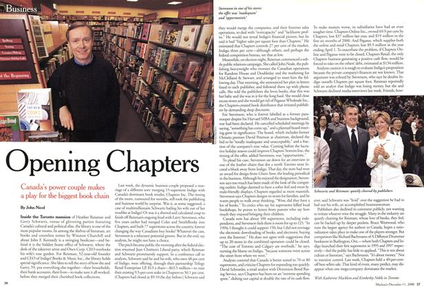 Article Preview: Opening Chapters, December 2000 | Maclean's