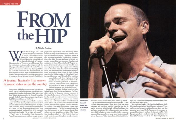 Article Preview: FROM THE HIP, December 2000 | Maclean's