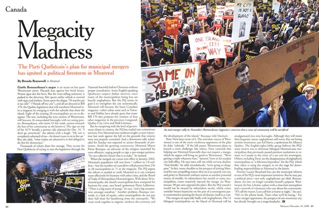 Article Preview: Megacity Madness, December 2000 | Maclean's