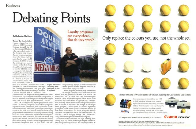 Article Preview: Debating Points, December 2000 | Maclean's