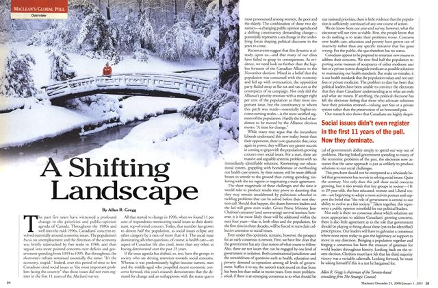 Article Preview: A Shifting Landscape, December 25, 2000/January 1, 2001 2000 | Maclean's