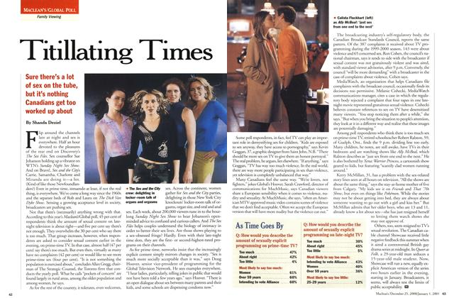 Article Preview: Titillating Times, December 25, 2000/January 1, 2001 2000 | Maclean's