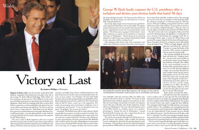 Article Preview: Victory at Last, December 25, 2000/January 1, 2001 2000 | Maclean's