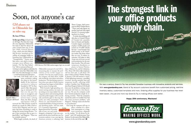 Article Preview: Soon, not anyone's car, December 25, 2000/January 1, 2001 2000 | Maclean's