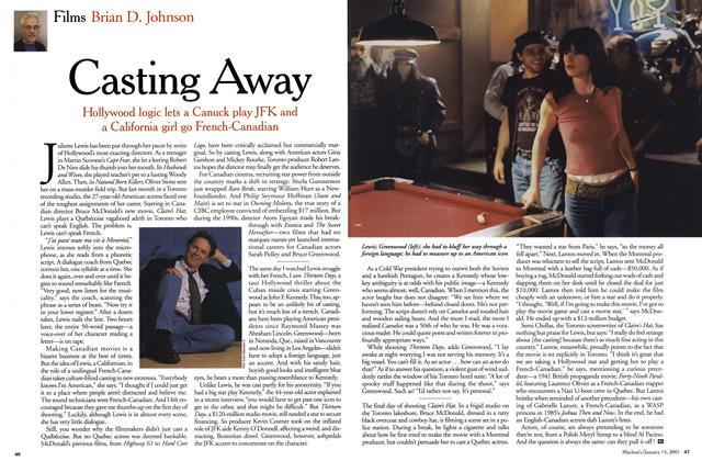 Article Preview: Casting Away, January 2001 | Maclean's
