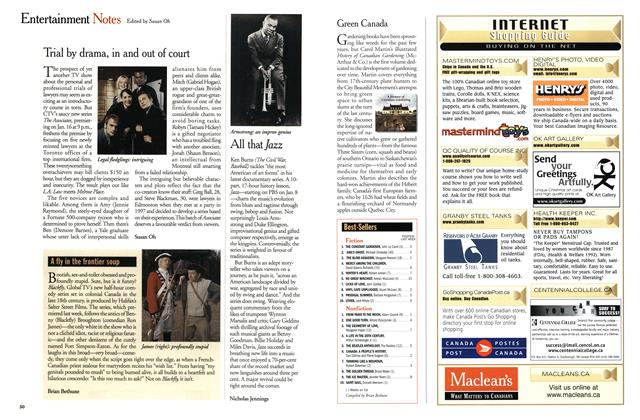 Article Preview: Entertainment Notes, January 2001   Maclean's