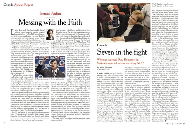 Article Preview: Messing with the Faith, January 2001 | Maclean's