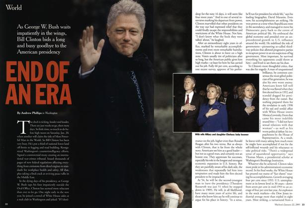Article Preview: END OF AN ERA, January 2001 | Maclean's
