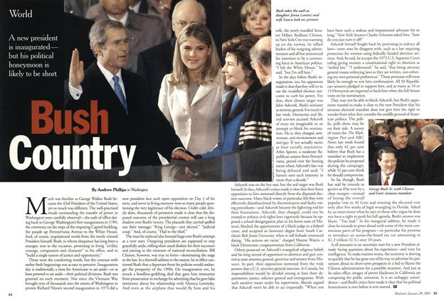 Article Preview: Bush Country, January 2001 | Maclean's