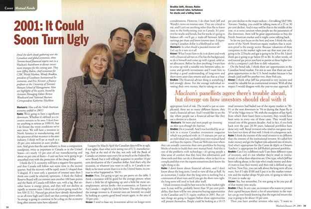 Article Preview: 2001: It Could Soon Turn Ugly, January 2001 | Maclean's