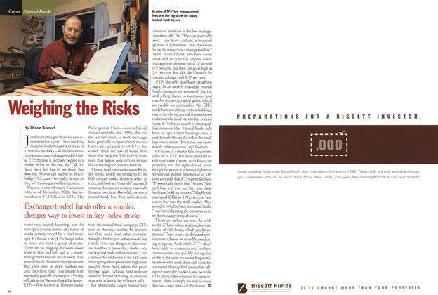 Article Preview: Weighing the Risks, January 2001 | Maclean's
