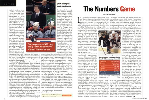 Article Preview: The Numbers Game, February 2001 | Maclean's