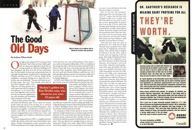 Article Preview: The Good (Nd Days, February 5, 2001 2001 | Maclean's