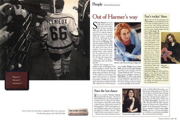 Article Preview: Advertisement, February 2001 | Maclean's