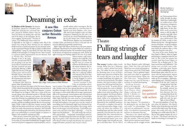 Article Preview: Pulling strings of tears and laughter, February 5, 2001 2001 | Maclean's