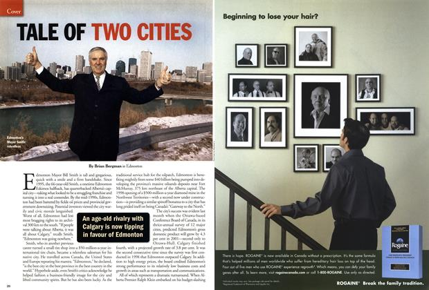 Article Preview: TALE OF TWO CITIES, February 12, 2001 2001 | Maclean's