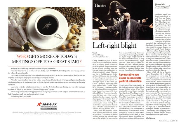 Article Preview: Left-right blight, February 2001 | Maclean's