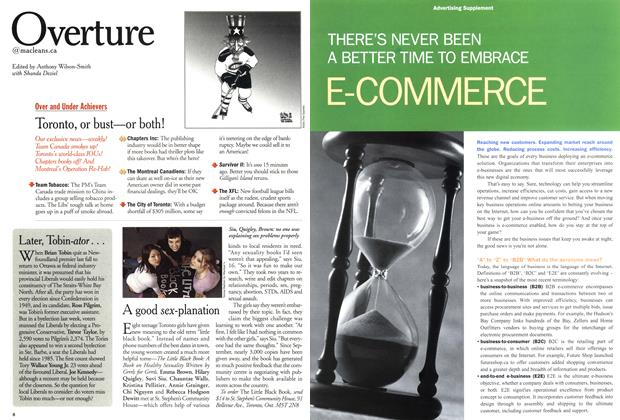 Article Preview: Overture, February 12, 2001 2001 | Maclean's
